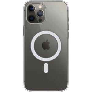Husa de protectie Apple Clear Case MagSafe pentru iPhone 12/12 Pro Transparenta