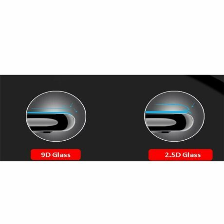 FOLIE STICLA TEMPERED GLASS 9D IPHONE iPhone 7/8/SE  ALBA