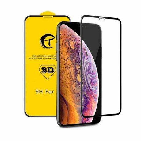 FOLIE STICLA TEMPERED GLASS 9D IPHONE XR