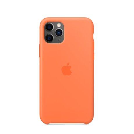 Resigilat - Husa de Silicon Apple iPhone 11 PRO - Portocaliu Vitamin C