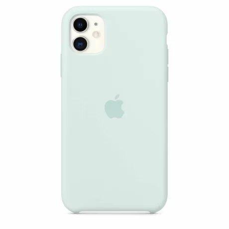 Resigilat - Husa de Silicon Apple iPhone  11 Pro Max - Sea Foam