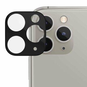 Folie de sticla metalica Lito pentru camera iPhone 11 Pro / 11 Pro Max - Black
