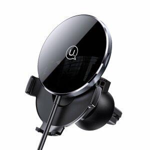 Incarcator Wireless Ultra Slim Usams 15W - Negru