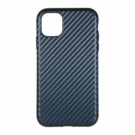 Husa de silicon cu model Carbon pentru iPhone 11 Pro