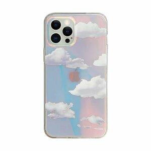 Husa de silicon cu model Cloud pentru iPhone X / XS