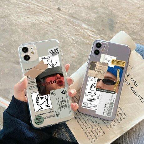 Husa de silicon cu model Fashion Label Rosu pentru iPhone XS / X