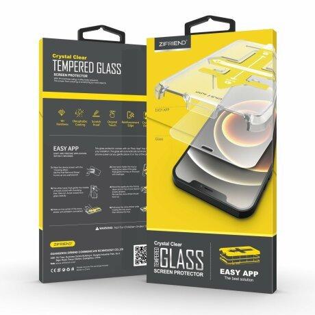 Folie de sticla 2.5D cu Kit de instalare pentru iPhone 11 Pro / XS / X Sistem de montare