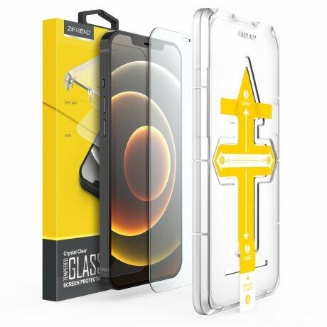 Folie de sticla 2.5D cu Kit de instalare pentru iPhone SE 2020 Sistem de montare