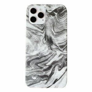 Husa de protectie Marble Alb pentru iPhone 12 Mini