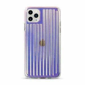 Husa de silicon cu model Gradient Laser pentru iPhone X / XS