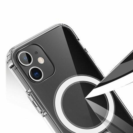 Husa de silicon transparenta Magsafe Clear pentru iPhone 11 Pro Max