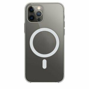 Husa de silicon transparenta Magsafe Clear pentru iPhone 12 Pro Max