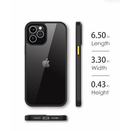 Husa telefon PC Case with TPU Bumper pentru iPhone 12 Mini
