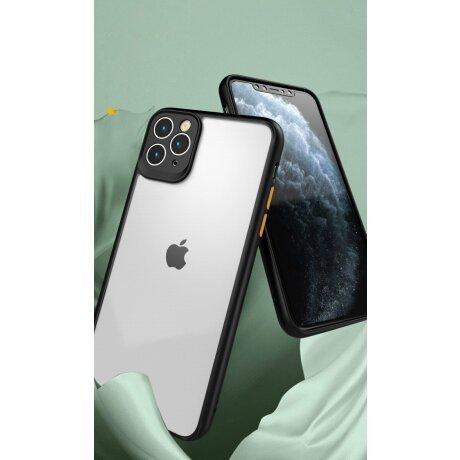 Husa telefon transparenta PC Case with TPU Bumper pentru iPhone 11