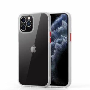 Husa telefon transparenta PC Case with TPU Bumper pentru iPhone 12 / 12 Pro