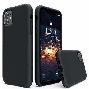 Husa de silicon Techsuit iphone 13- Negru