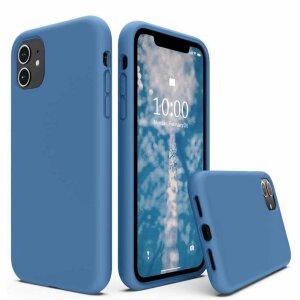 Husa de silicon Techsuit iphone 13 Pro- Albastru Denim