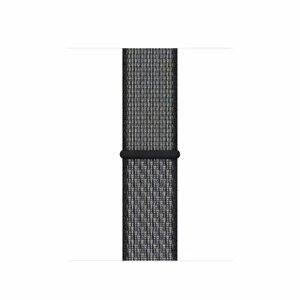 Curea / Bratara Originala Apple Watch Nylon Material 42-44mm Band: Dark Gray - Resigilat