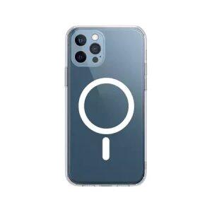 Husa de silicon transparenta MagSafe Iphone Xr