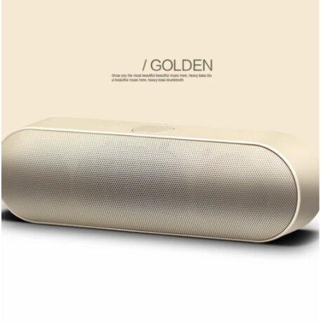 Boxa Portabila Luxury Speaker HIGH QUALITY red