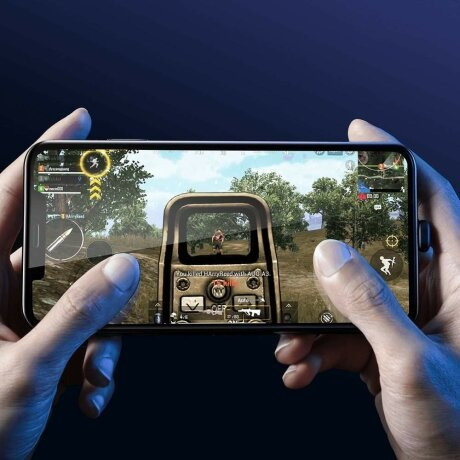 Cablu Lightning - Baseus Mobile Games 1.5A 1.2m Negru