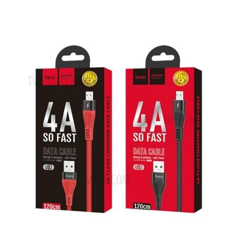 "Cablu USB la Micro-USB ""U53 4A Flash"" charging data sync"