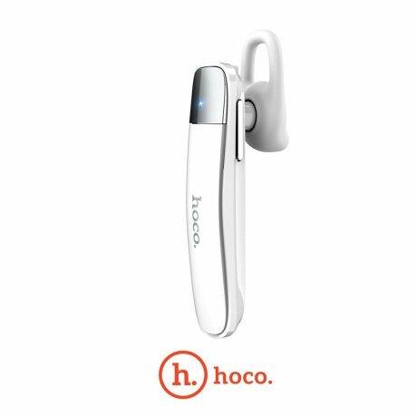 Casca Bluetooth, Hoco E31, Alb