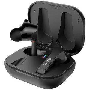Casti In-Ear Hoco Pleasure ES34 True Wireless Headset Bluetooth Cu Microfon Si Statie De Incarcare - Negru