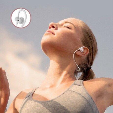 Casti In-Ear Wireless Baseus Encok Sports S17 Bluetooth 5.0  White