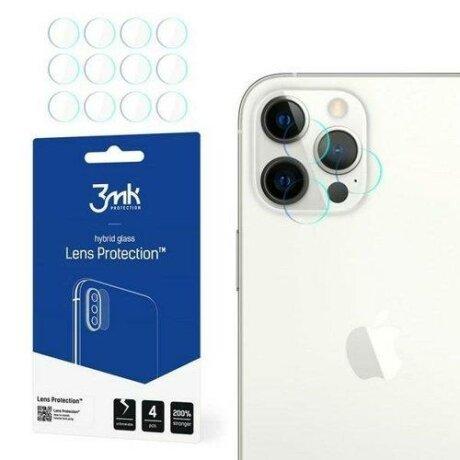 Folie de protectie camera 3MK Lens Protect iPhone 12 Pro Max