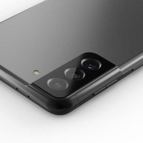Folie de sticla pentru camera Spigen Optik Camera Lens Galaxy S21 Black