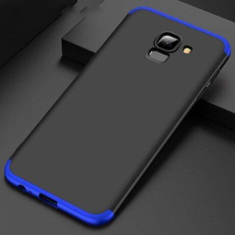 Husa 360 GKK Samsung Galaxy A40 - Black-blue