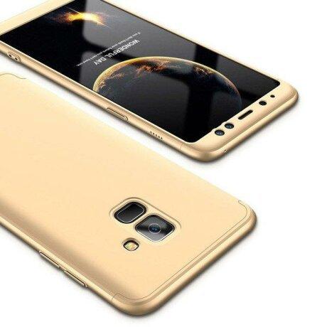 Husa 360 GKK Samsung Galaxy A6 2018 - Gold