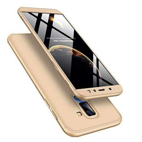 Husa 360 GKK Samsung Galaxy A6 Plus 2018 - Gold