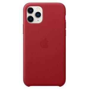 Husa Apple Leather Case  pentru iPhone 11 Pro Rosu Red Product