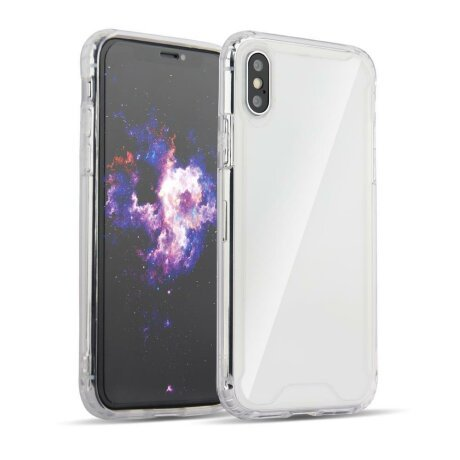 Husa Clear Armor PC Case with TPU Bumper for Samsung Galaxy A7 2018 A750 transparent