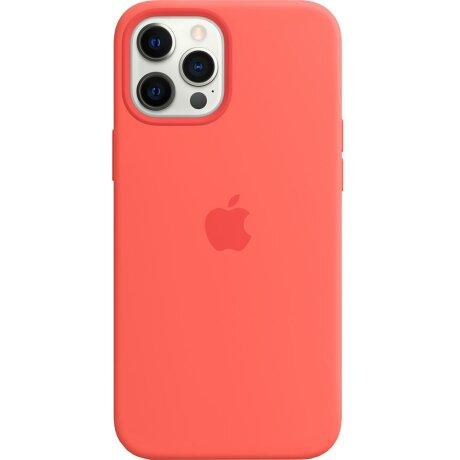 Husa de Silicon Apple pentru iPhone 12/ 12 PRO - Roz Pink Citrus