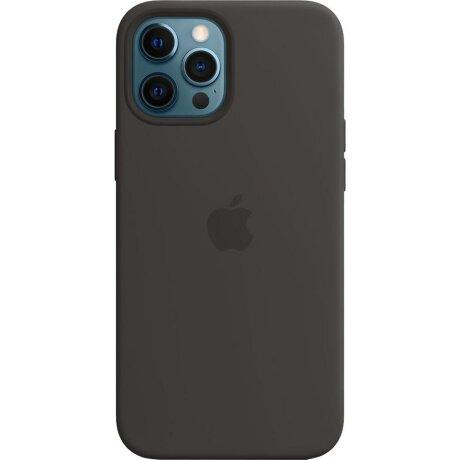 Husa de Silicon Apple pentru iPhone 12/ 12 PRO - Negru Black