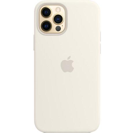 Husa de Silicon Apple pentru iPhone 12/ 12 PRO - Alb White