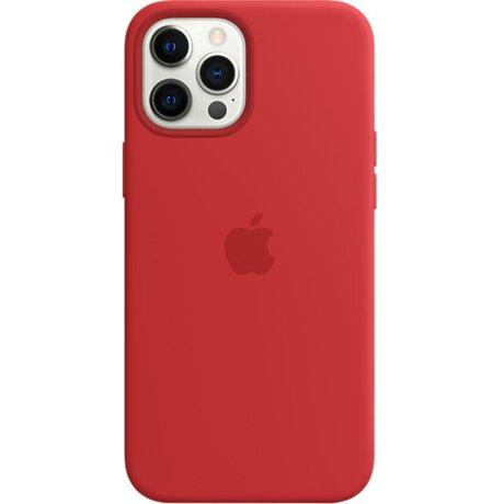 Husa de Silicon Apple pentru iPhone 12 PRO MAX - Rosu Red