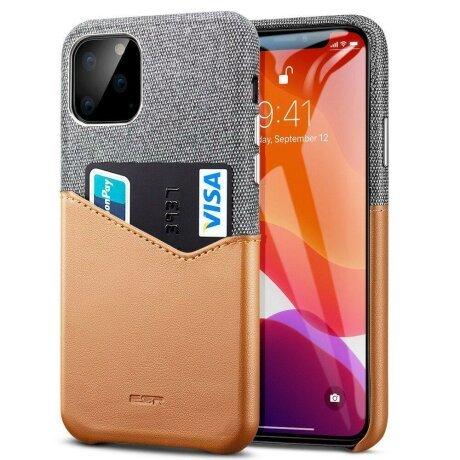 Husa ESR Metro Wallet case for Iphone 11 PRO Max ( 6.5 ) gray brown