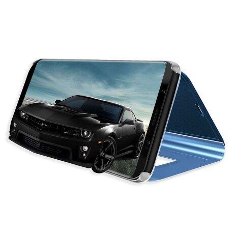 Husa Flip Mirror pentru Galaxy A40 Black