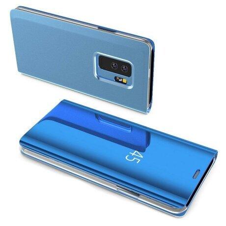 Husa Flip Mirror pentru Galaxy S10 Blue