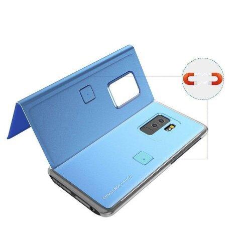 Husa Flip pentru Galaxy S10 Blue