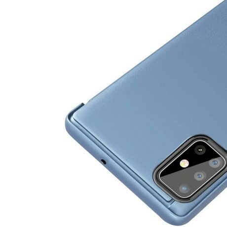 Husa flip Samsung Galaxy S20 Plus Blue