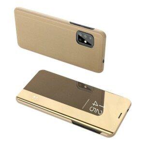 Husa flip Samsung Galaxy S20 Ultra Gold
