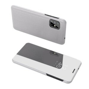 Husa flip Samsung Galaxy S20 Ultra Silver