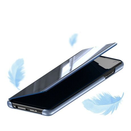 Husa Flip View pentru Samsung Galaxy A70 Pink