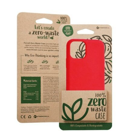 Husa Forcell BIO - Zero Waste Case for IPHONE 11 PRO Max red