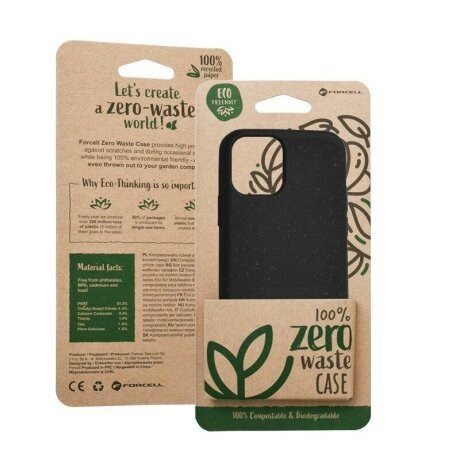 Husa Forcell BIO - Zero Waste Case for IPHONE X / XS black